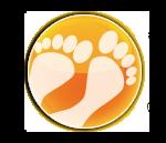 Kevytjalkineet Logo